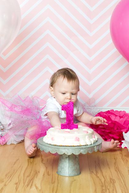 Emily - 1 year old - Cake Smash 2017 - 25